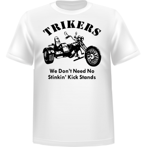 T-shirt Trikers we don't need
