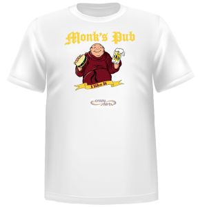 T-shirt Monk's Pub