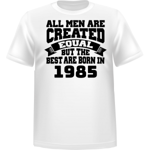 T-shirt All Men Are Created