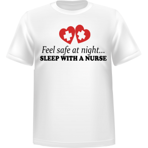 T-shirt Feel Safe at Night