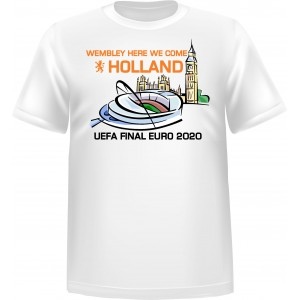 T-shirt Wembley here we come