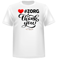 T-shirt Zorg Thank You