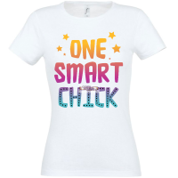 T-shirt One-smart-chick